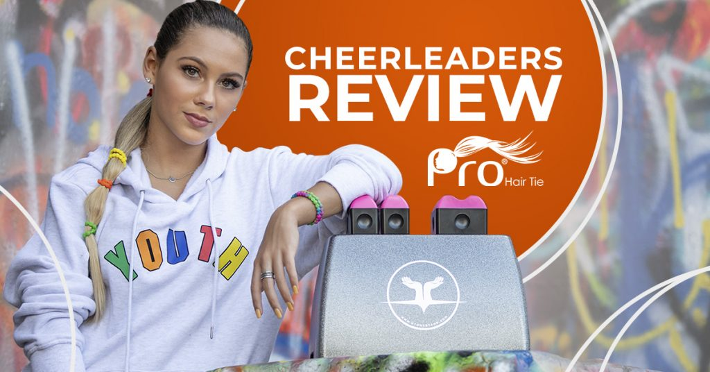 Cheerleaders Review Pro Hair Tie